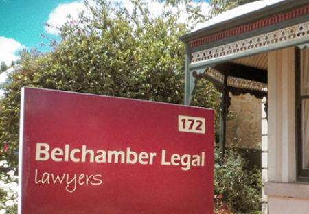 Belchamber Legal Logo