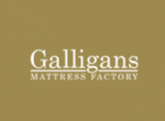 Galligans Matress Factory logo
