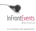 In Front Events logo